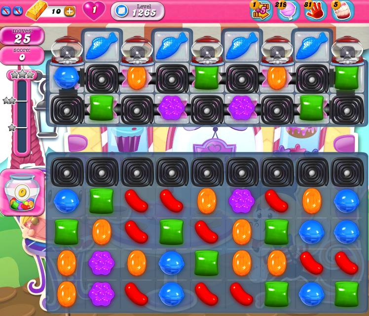 Candy Crush Saga 1265