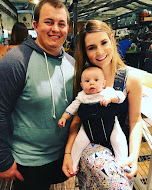 Rachel with husband Adam and baby Jackson