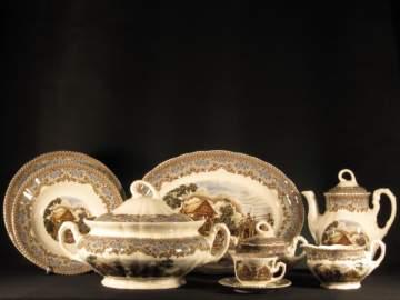 El chef artesano las vajillas for Vajillas porcelana clasicas