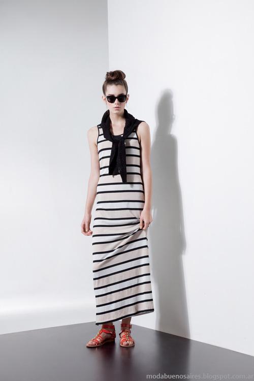 Carmela Achaval primavera verano 2014 vestidos.