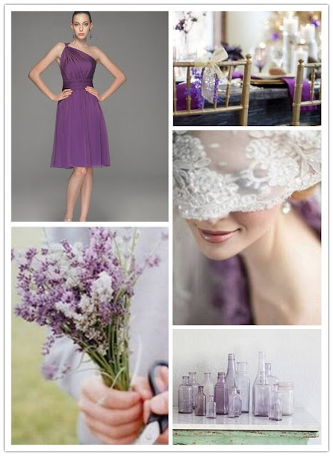 Lavender Theme Wedding Match Ideas 01