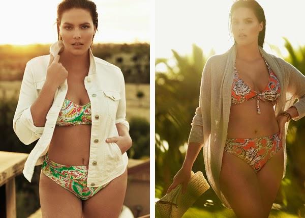 bikini estampado talla grande Violeta by Mango cazadora verano
