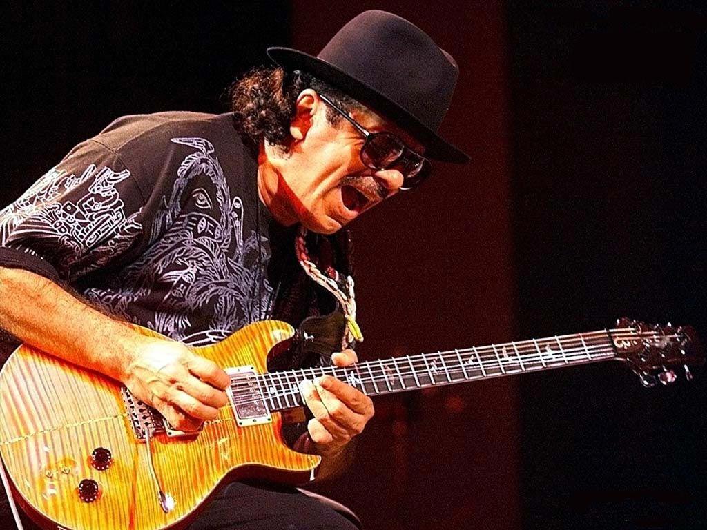 Into A Blue ... Santana Live