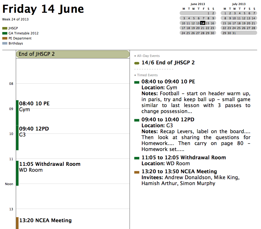 Future Learning Blog: Improve organisation with google calendar as ...