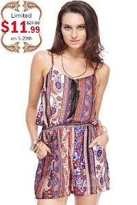 Win a boho pasley romper