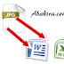 كيفية تحويل صورة jpg الى word , excel أو txt