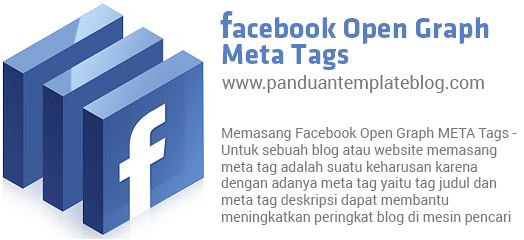 Memasang Facebook Open Graph META Tags