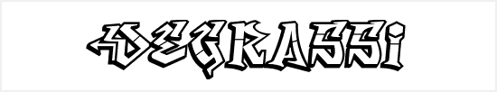 Free Graffiti Fonts - Degrassi