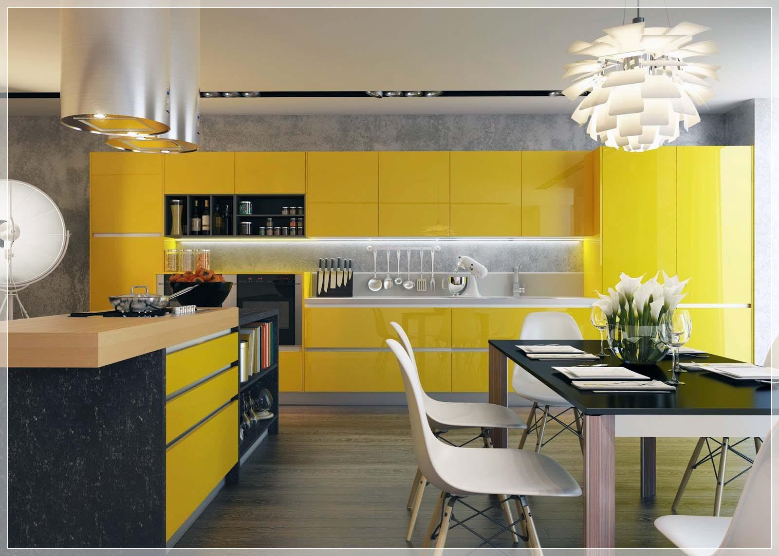 Kjøkken med kontrast   interiør inspirasjon