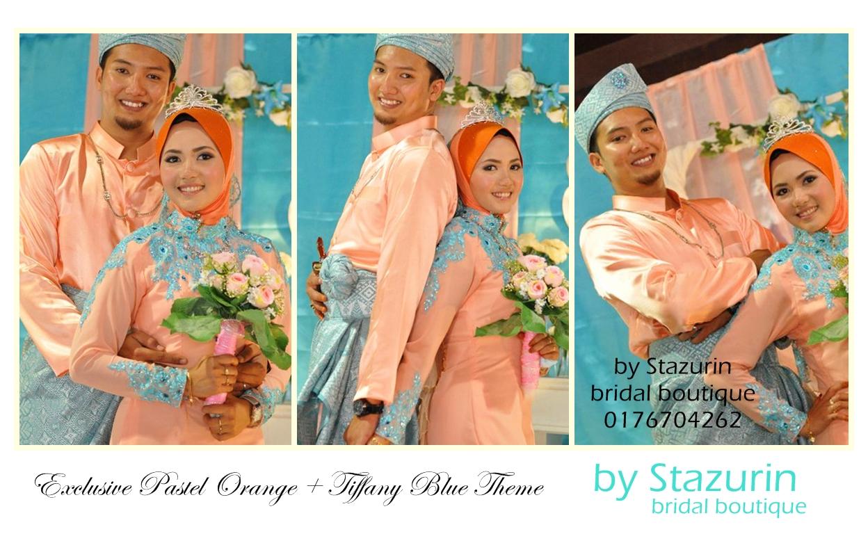 Warna Pastel Orange dan Tiffany Blue 2013&2014|Pastel Orange and