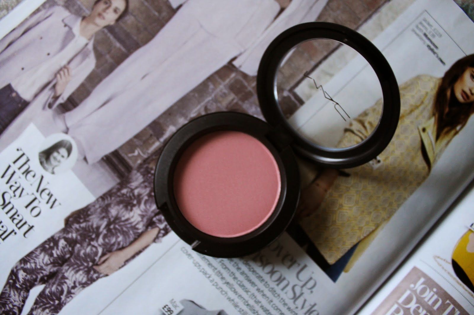 MAC Fleur Power Satin Finish Powder Blush Review