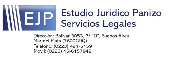 Gestoría Judicial en Mar del Plata | Diligencias Judiciales | Dra. Panizo