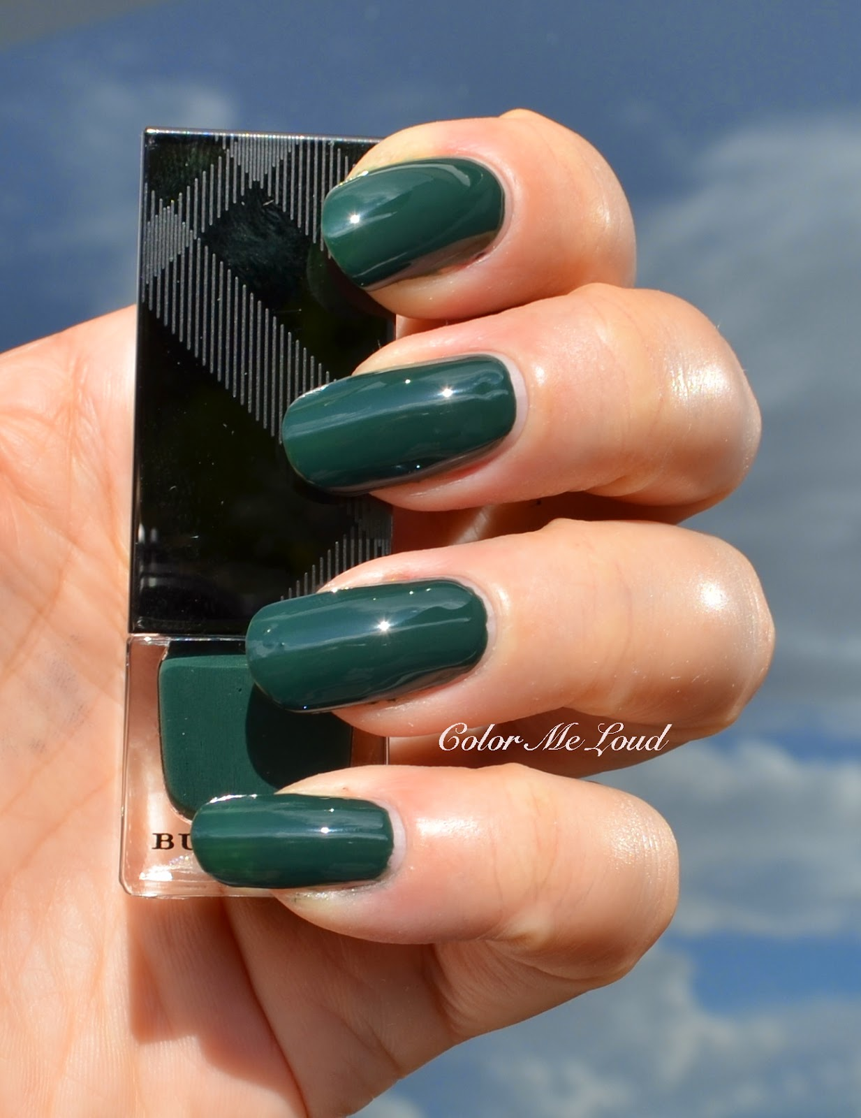 Burberry Nail Polish #407 Elderberry, #423 Dark Bottle Green, #425 ...