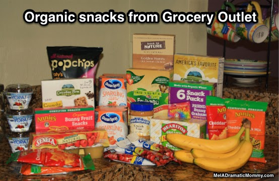 Grocery Outlet sells heathy organic snacks