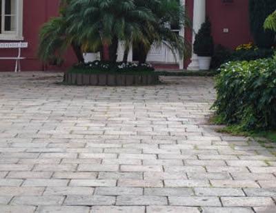 piedra artificial para pavimento de exteriores