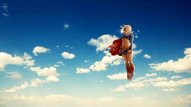 Supergirl Hero HD Wallpaper
