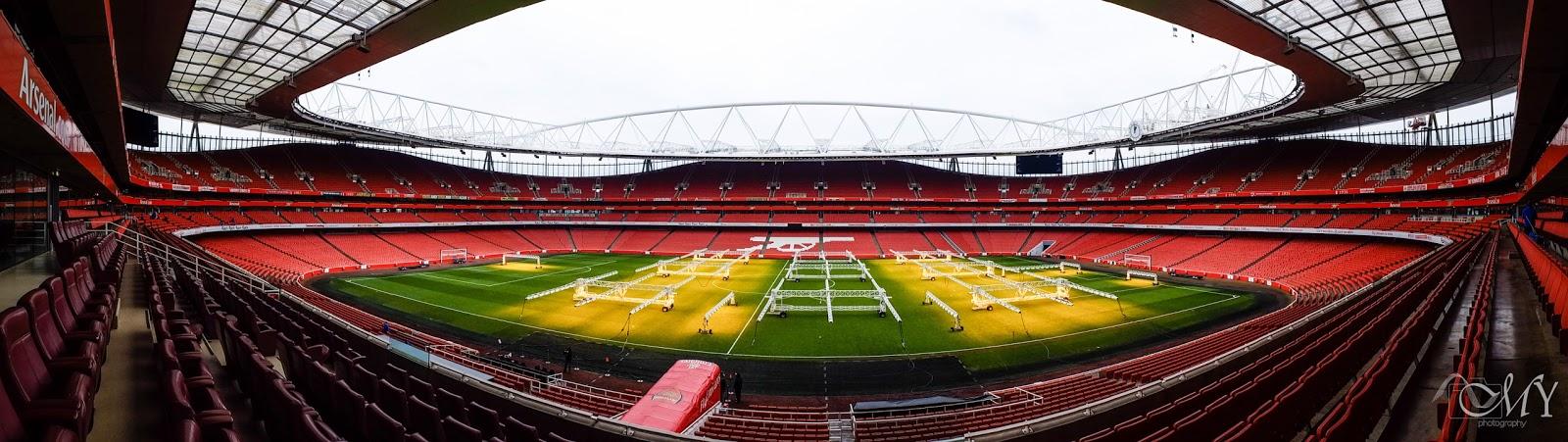 Emirates Stadium Seating Plan View View of Emirates Stadium