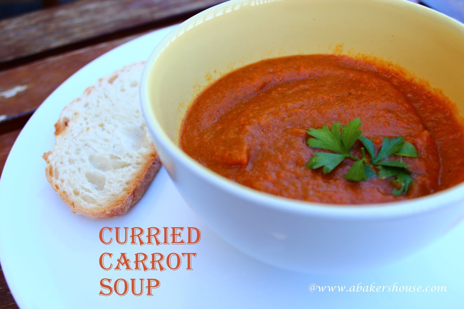 Carrot Soup Recipe — Dishmaps