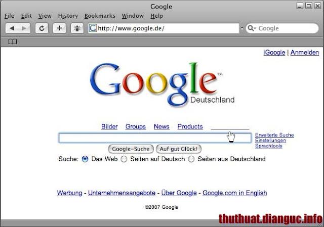 Phím tắt chuyển đổi qua lại các Tab trên trình duyệt Web