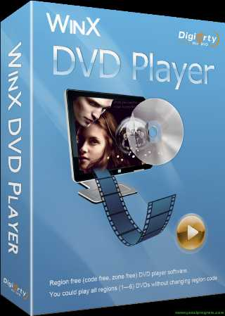 WinX DVD Player Registration Code, License Key Free