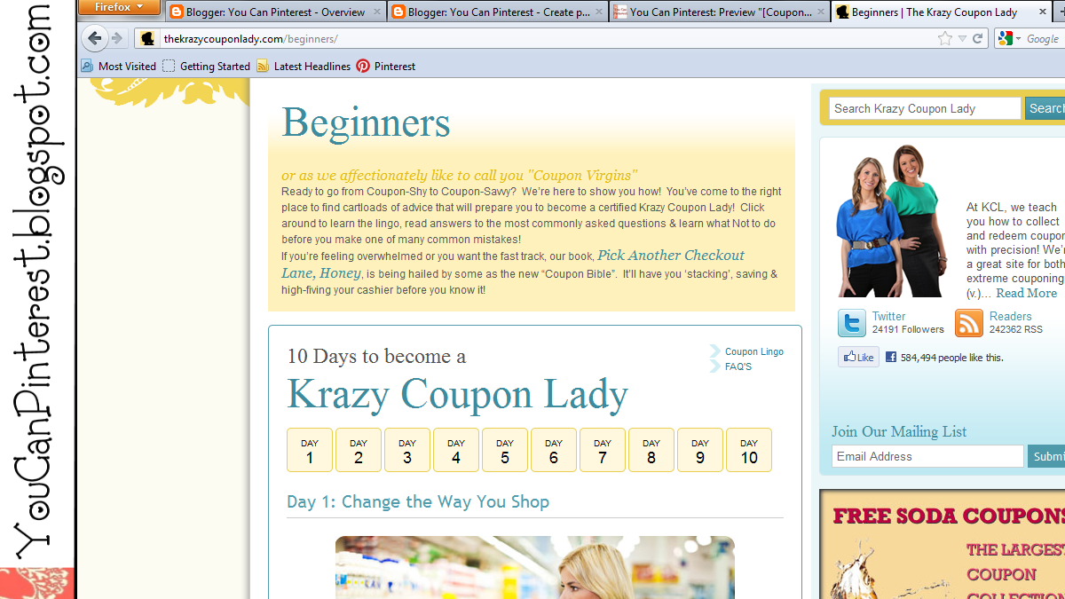 Krazy coupon lady show