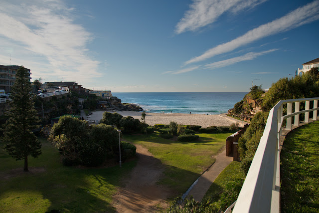A photograph of Tamarama Beach on Sydney, Australia