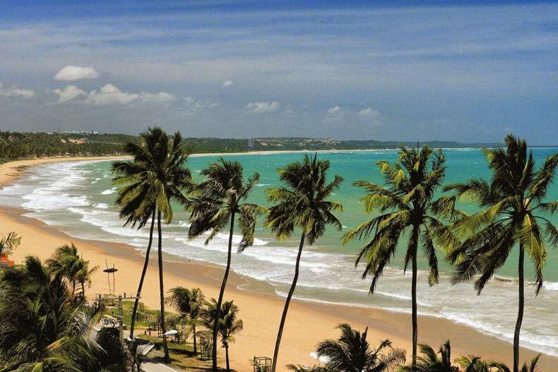Praia de Cruz das Almas - Praias de Maceió