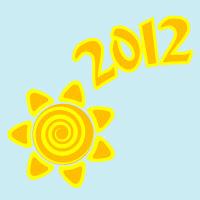 Позитивный календарь с драконом на 2012 год