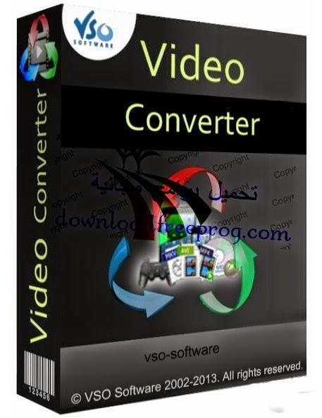 تحميل برنامج VSO Video Converter 1.5.0.4 لتحويل الفيديو