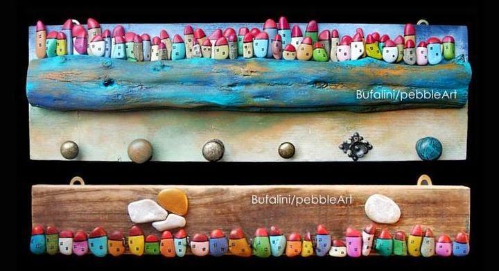 Tutorial de artesan as arte con piedras - Cuadros con piedras ...