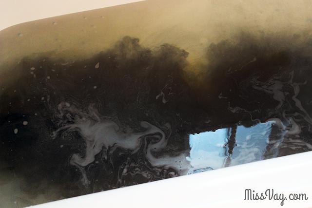 Bokuju ya sels de bain noirs japon