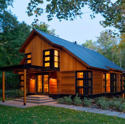 Fachadas de casas modernas en el campo dise os y estilos - Disenos de casas de campo modernas ...