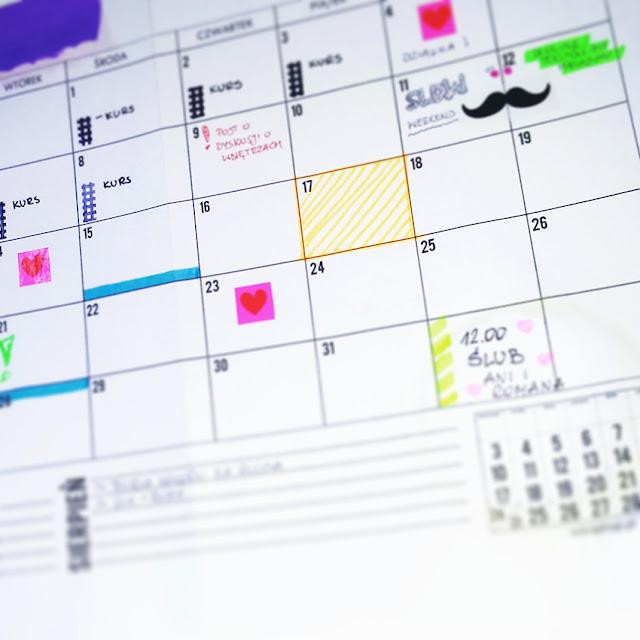 Jak kreatywnie rozplanować miesiąc