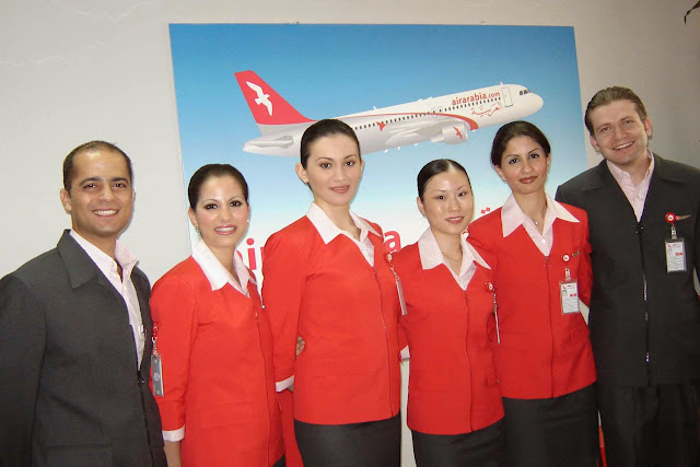 The airline air arabia world stewardess crews - Air arabia sharjah office ...