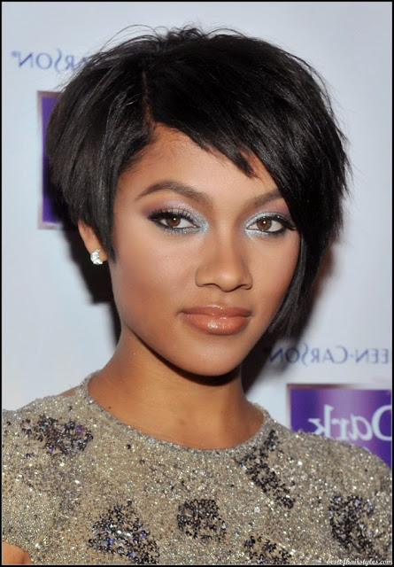 Lovely Short Black Natural Hairstyles