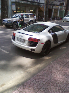Audi R8 in Ho Chi Minh City - Vietnam