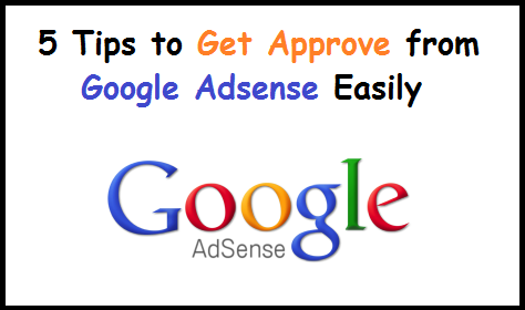 Get Approved From Adsense