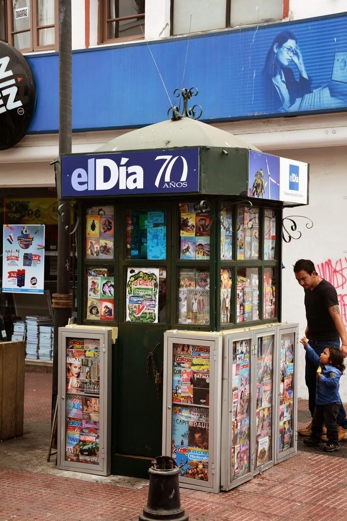 La Serena kiosk