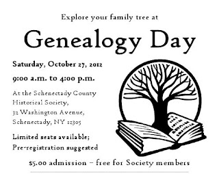 Schenectady County Historical Hosts Genealogy Day