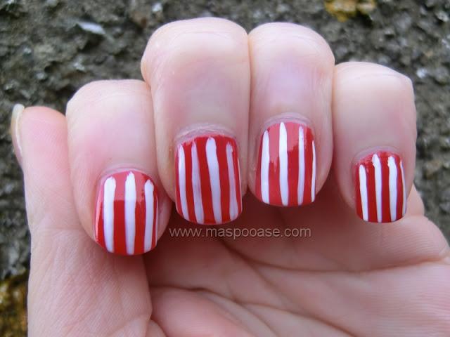 Millennium Nails snow white striper review