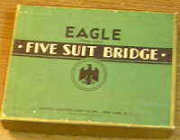 Eagle Five-Suited Bridge decks
