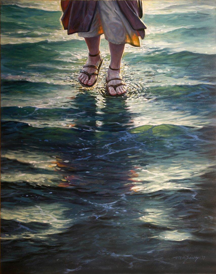 Bible Event : Jesus Walks on Water
