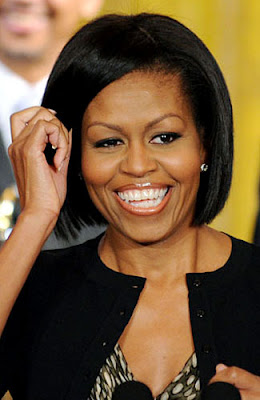 Model Rambut 2012 - Michelle Obama