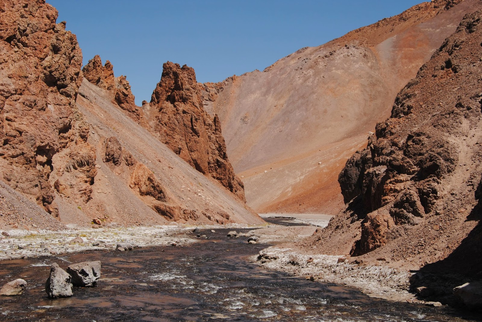 Rio Aguas Negras - Cordillère des Andes - Chili