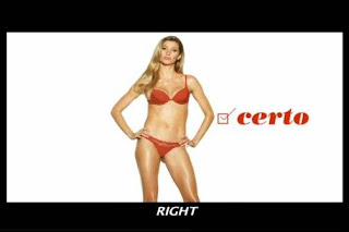 Gisele Bundchen sexist Hope lingerie