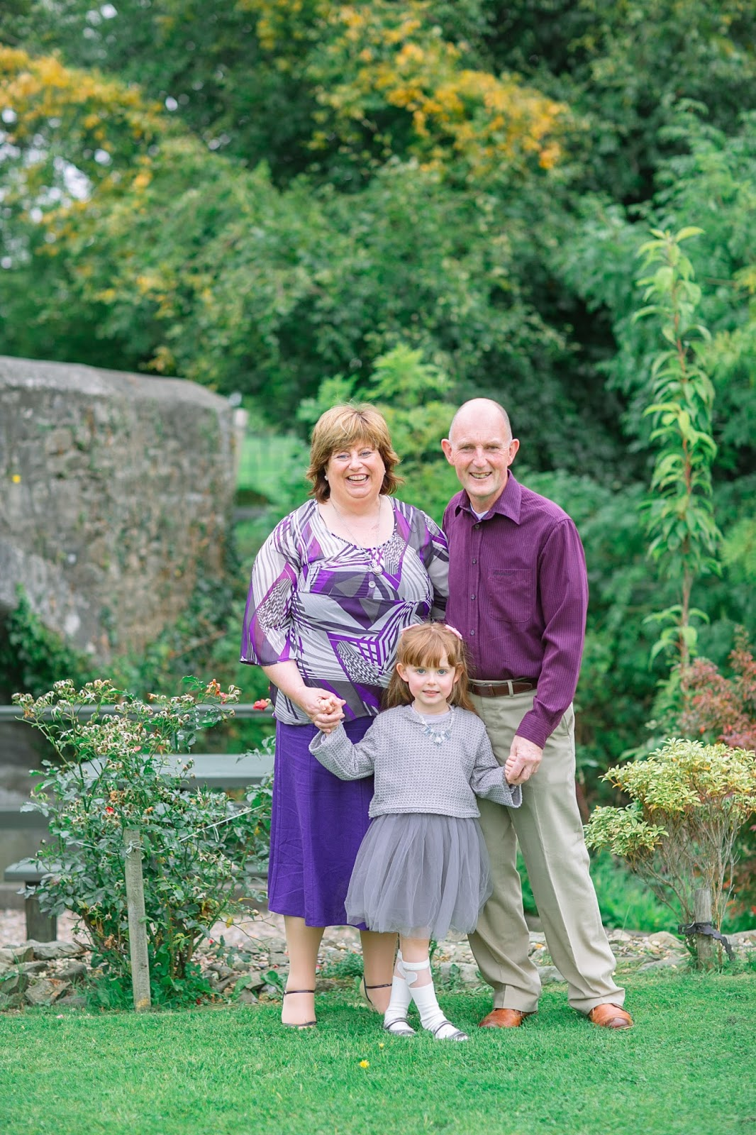 Family Shoot in Back Garden