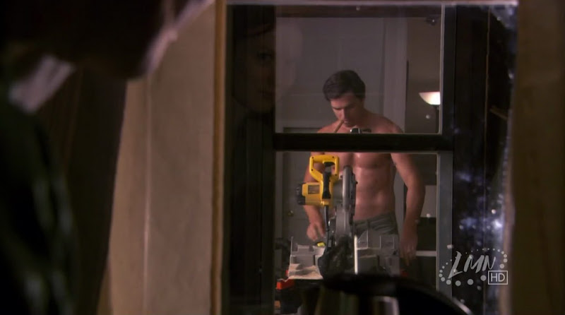 Matthew Settle Shirtless in Nora Roberts' Blue Smoke