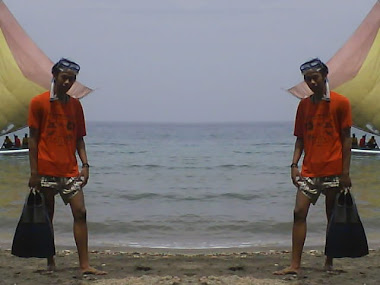 Snorkling in Pasir putih beach