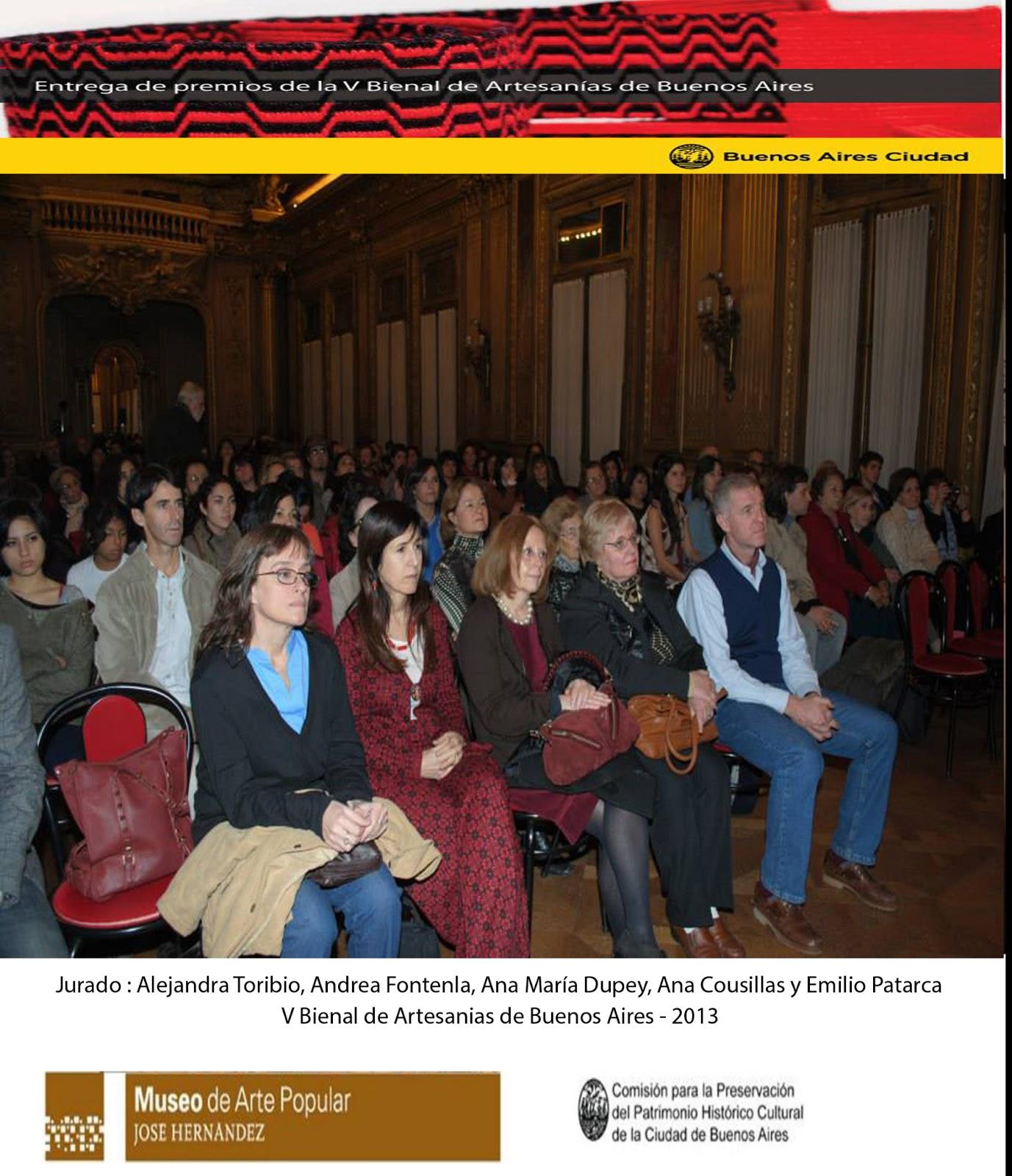 V BIENAL DE ARTESANIAS DE BUENOS AIRES 2013