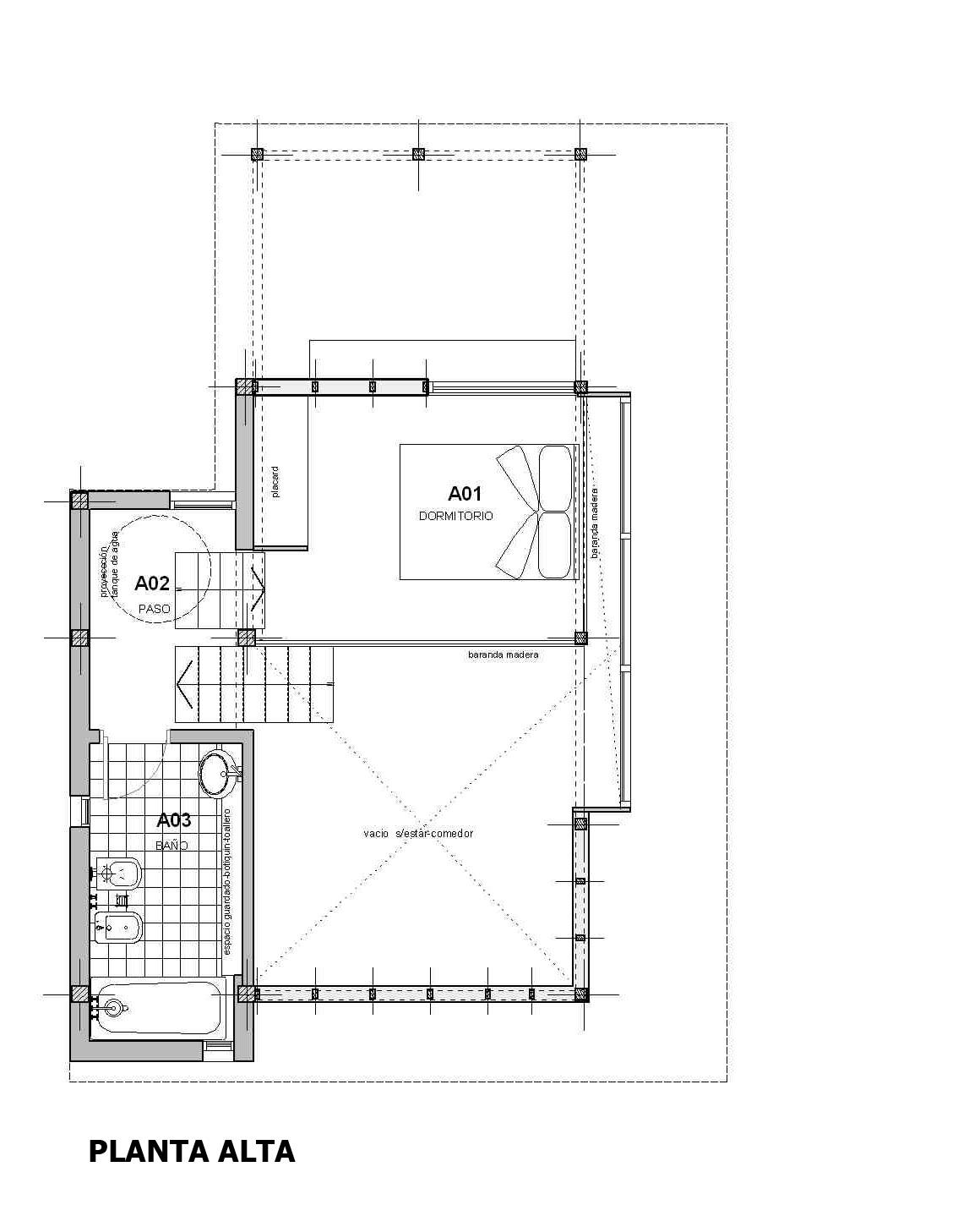 Christian almeida arquitecto 1 05 10 1 06 10 for Kasa diseno interior